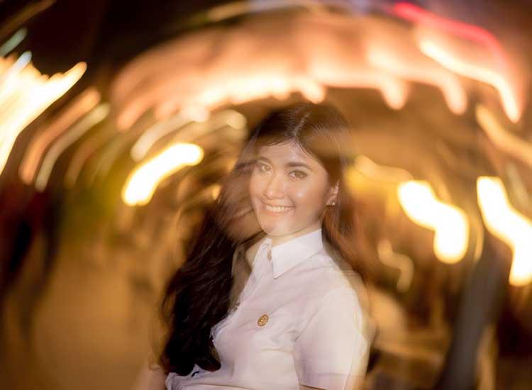 Art Portrait Photo Gril